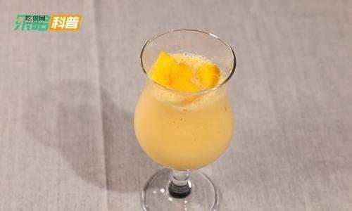 芒果奶昔怎么做,芒果牛奶汁的做法窍门,芒果奶昔的做法插图