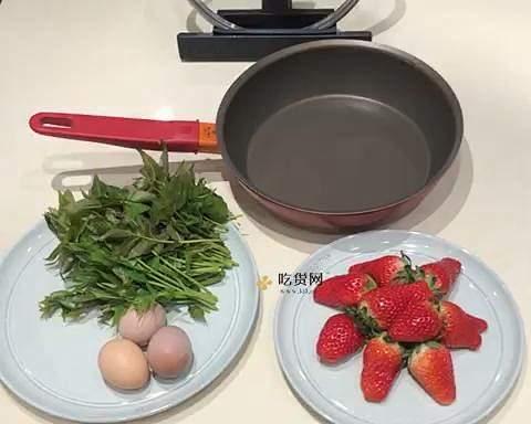 香椿鸡蛋饼的做法 步骤1
