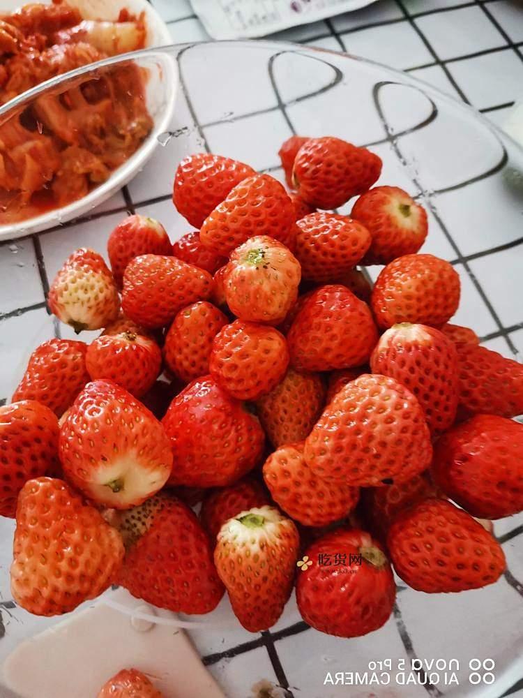 自制无添加草莓酱🍓的做法 步骤1