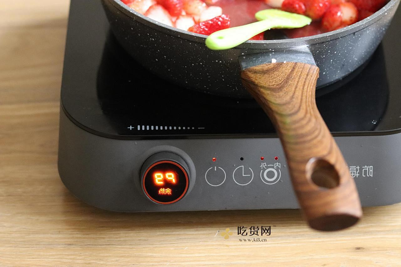 草莓|做成草莓酱再什么季节都可以吃了的做法 步骤6