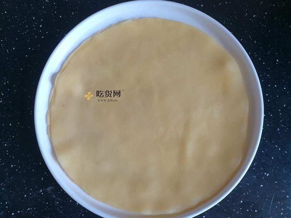 免电烤箱~炒菜锅就能做的草莓千层小蛋糕的做法 流程9