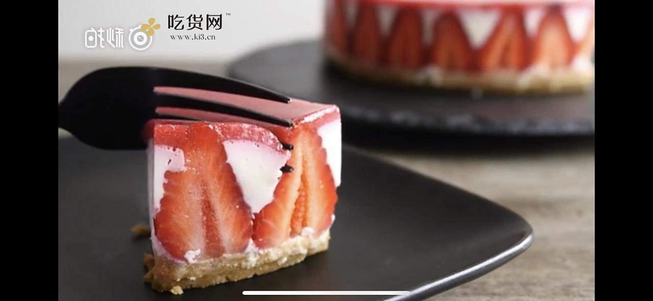 【emojoie】草莓冻芝士的做法 步骤9