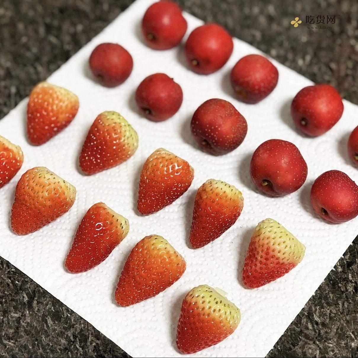 冰糖葫芦&草莓的做法 步骤1