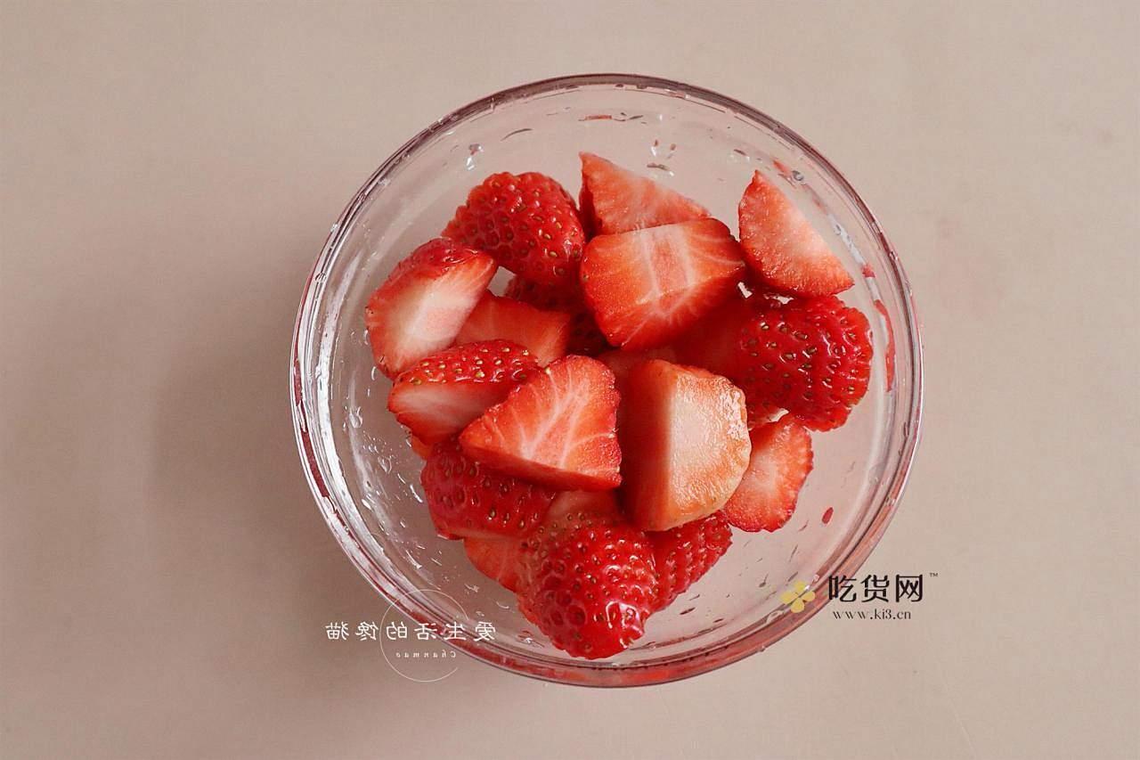 草莓多多西米露的做法 步骤3