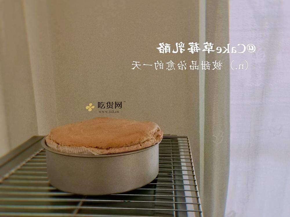 草莓乳酪蛋糕的做法 步骤7