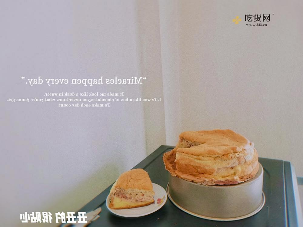 草莓乳酪蛋糕的做法 步骤6