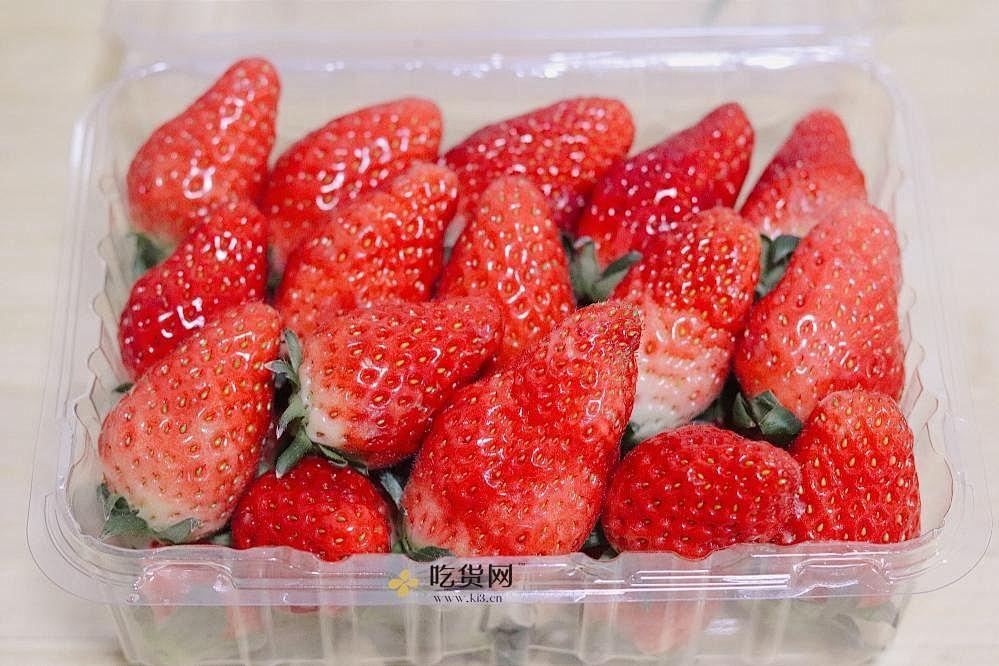 糖腌草莓的做法 步骤1