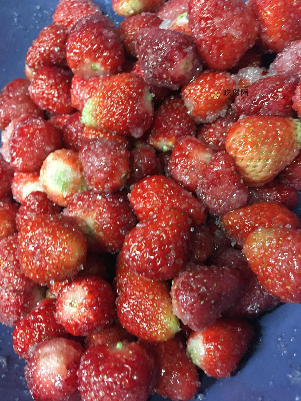 自制大颗粒🍓草莓果冻的做法 步骤3
