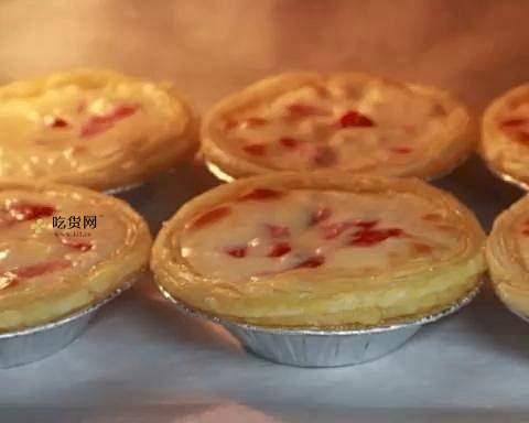 春天的草莓乳酪挞(蛋挞皮版)的做法 步骤8
