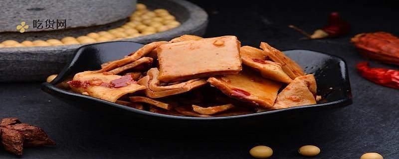 零食豆干是怎么做出来的,马兰头豆干怎么做好吃缩略图