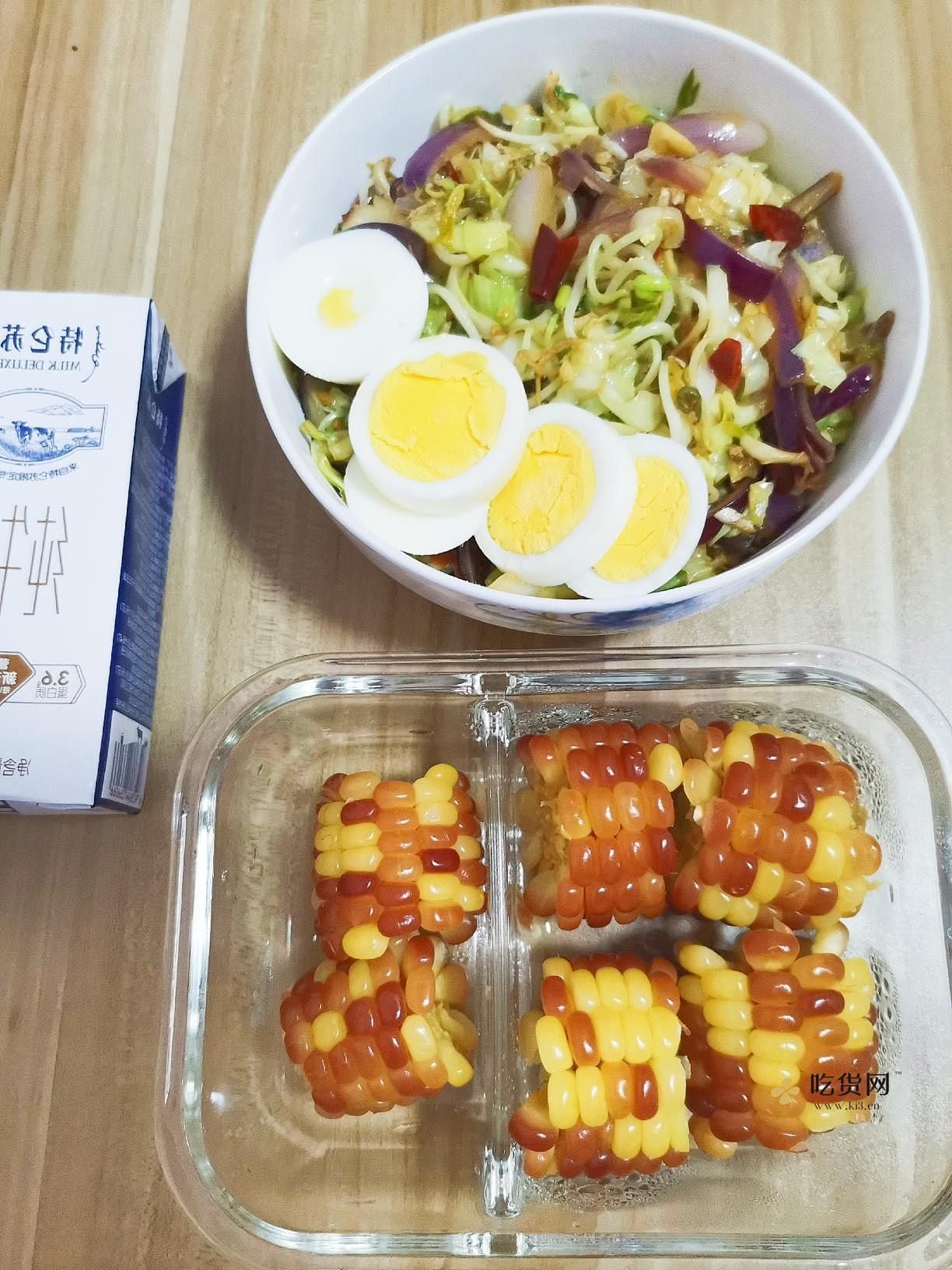 减肥瘦身餐午餐便当营养膳食6的作法 流程9