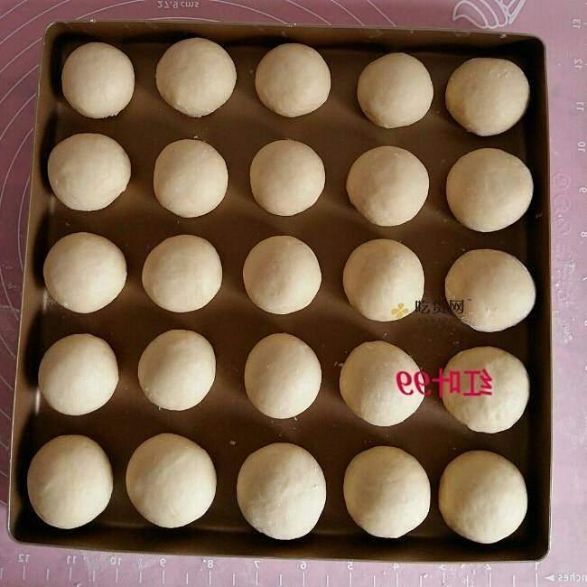 蜂蜜奶香小排包的做法 步骤5
