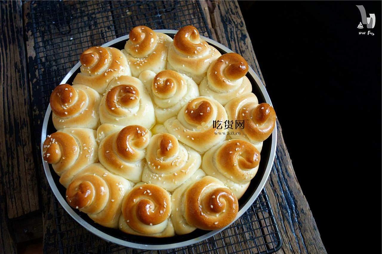 奶油蜂蜜小面包的做法 步骤18
