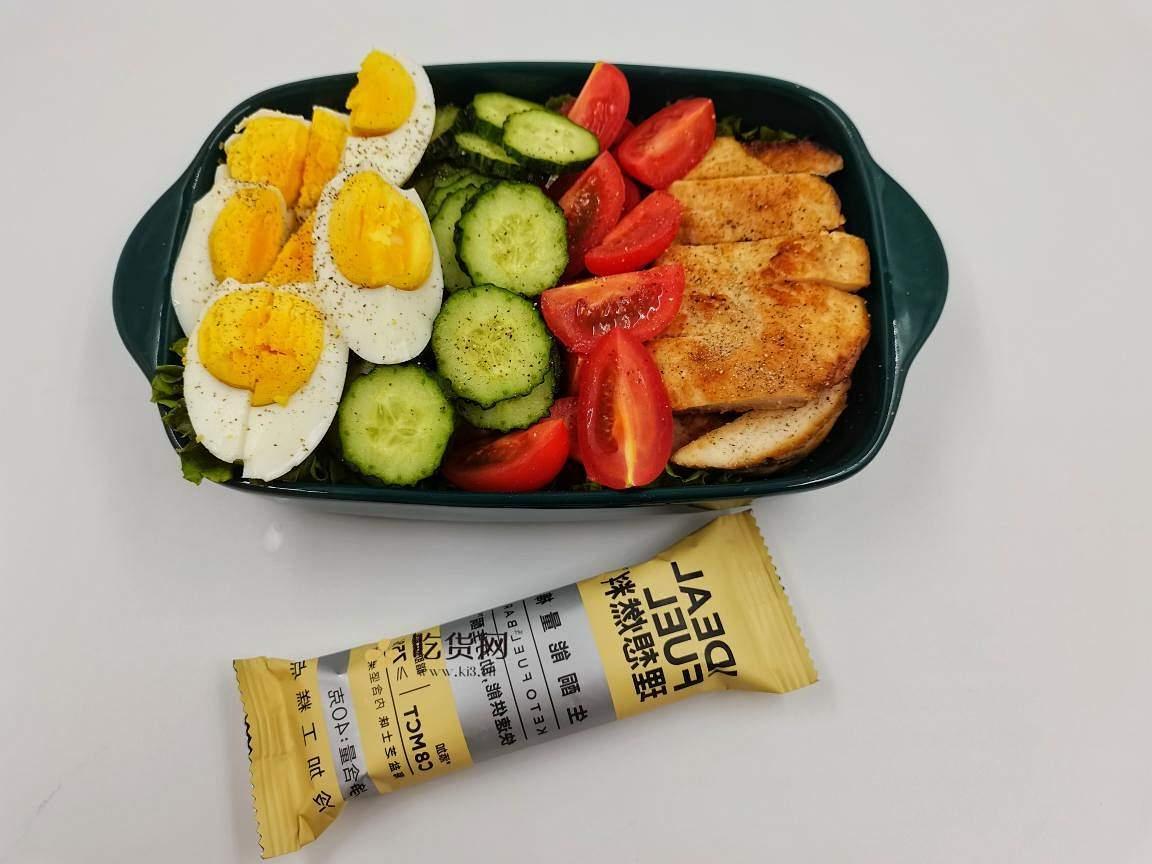 我的低碳生酮减肥餐||果蔬鸡胸肉沙拉的做法 步骤8