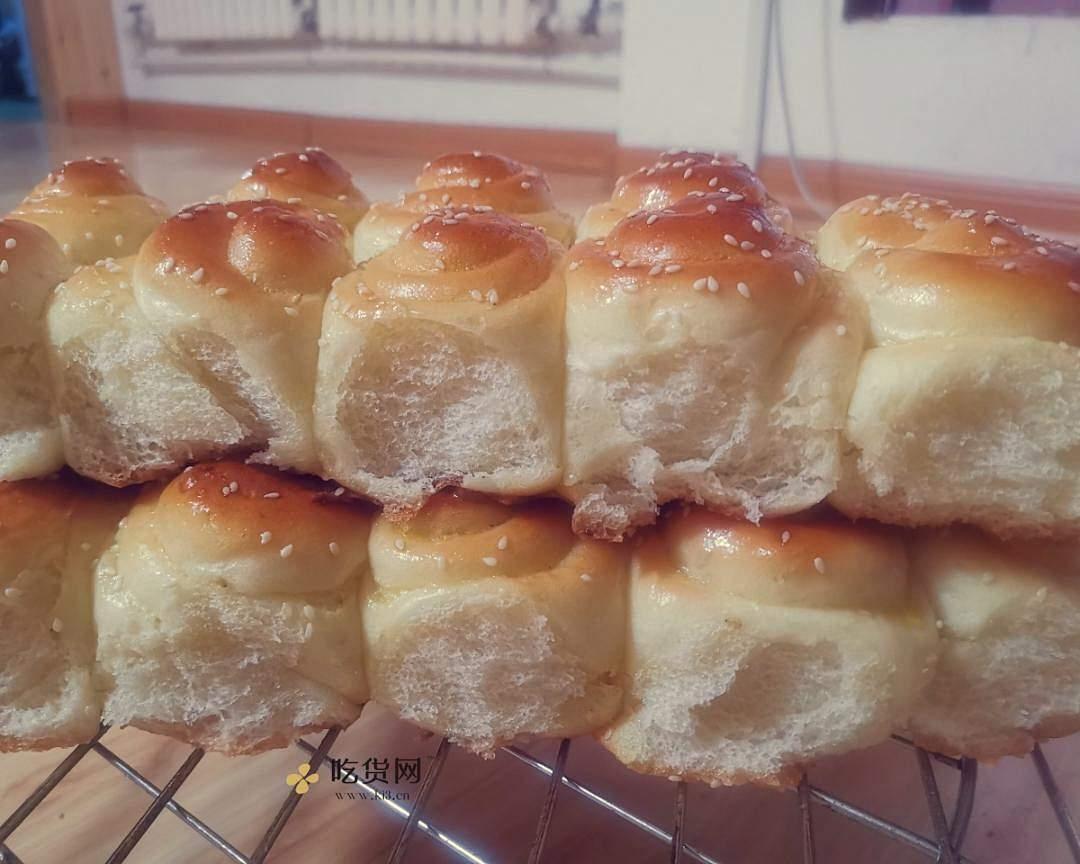 脆底蜂蜜小面包的做法 步骤9