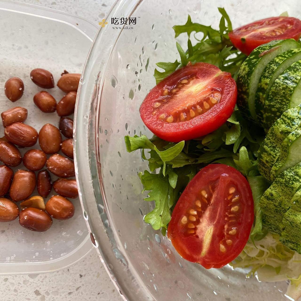 减肥餐:油醋汁拌菜的做法 步骤1