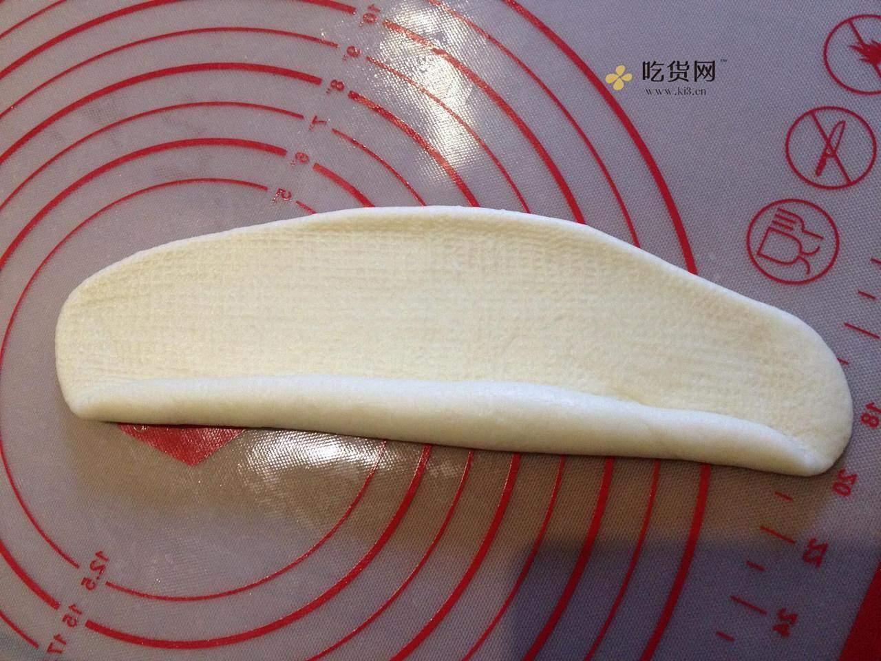蜂蜜淡奶油面包#美味排包#的做法 步骤3