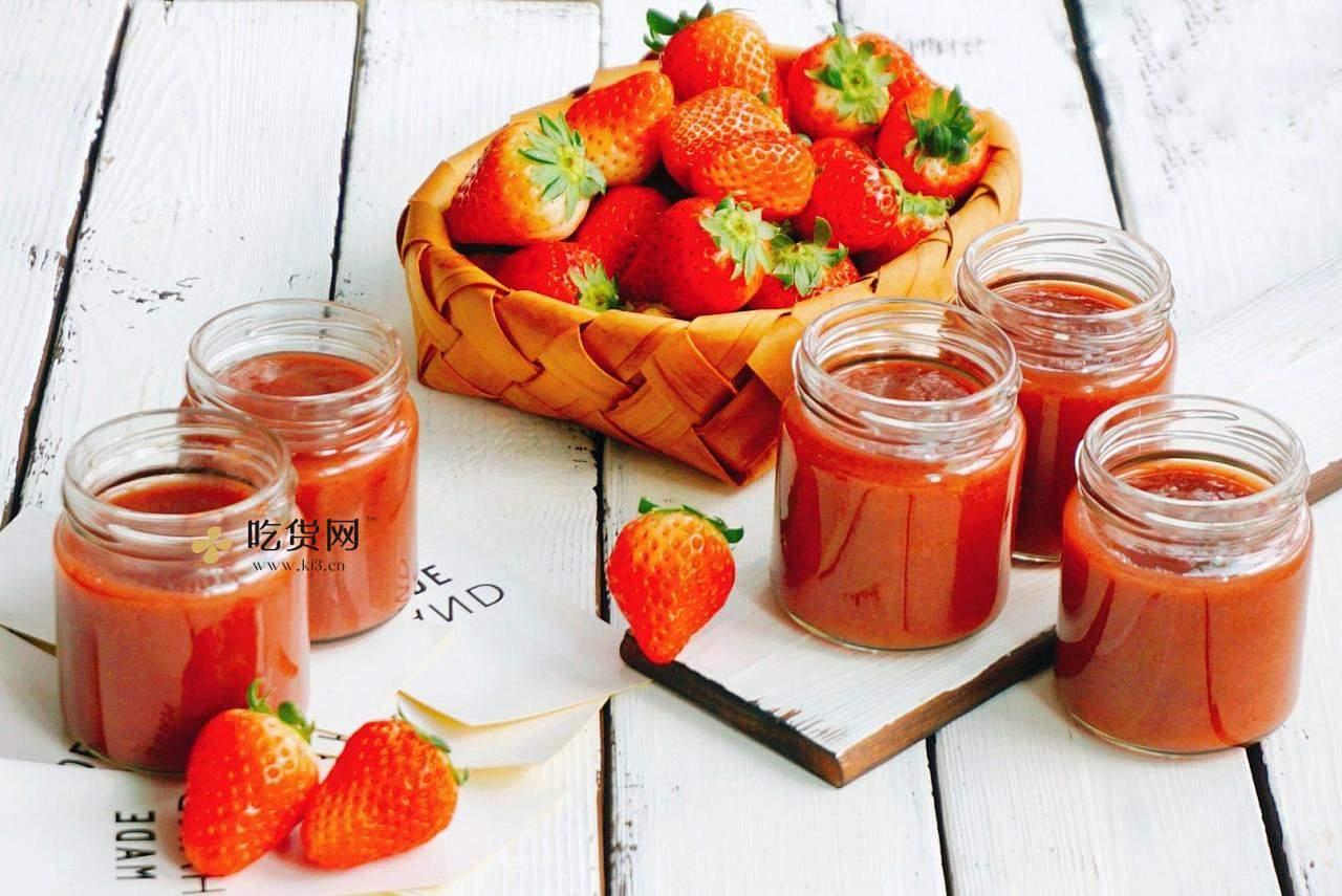 🔥火爆网红饮品—草莓牛乳|超高颜值|0失败的做法 步骤2
