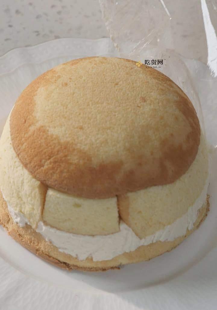 曼食慢语丨草莓芝士雪山蛋糕的做法 步骤22