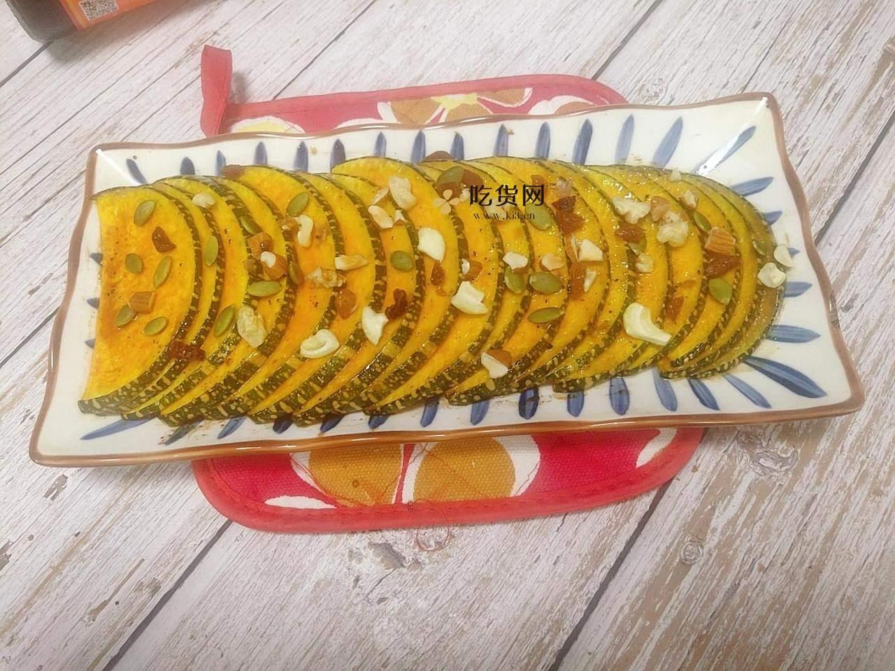 蜂蜜烤南瓜的做法 步骤9