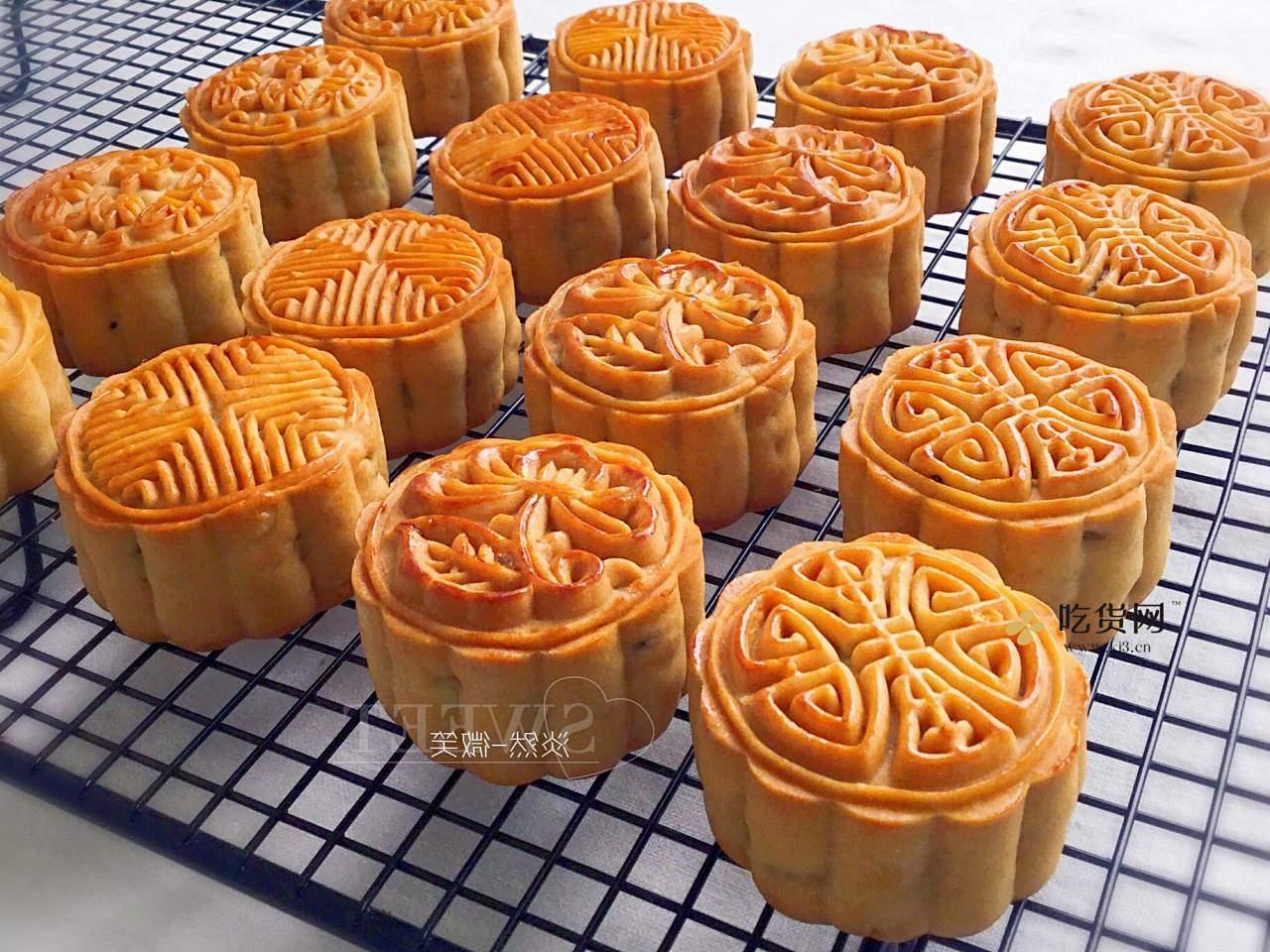 广式五仁月饼蜂蜜版(不用转化糖浆)的做法 步骤14