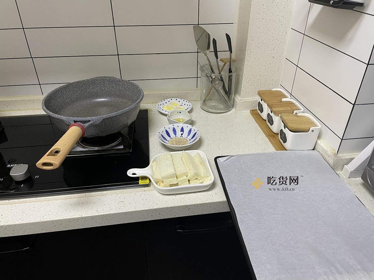 蜂蜜吐司脆的做法 步骤2