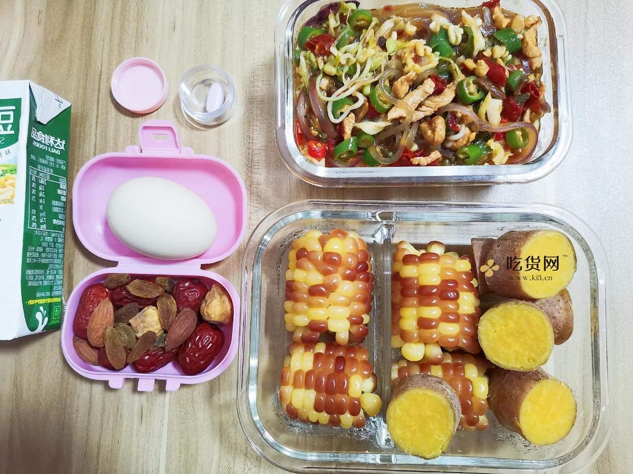 减肥餐午餐便当营养餐2的做法 步骤6