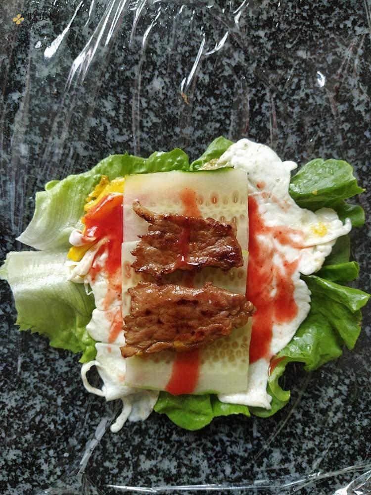 超美味减肥餐蔬菜三明治的做法 步骤5