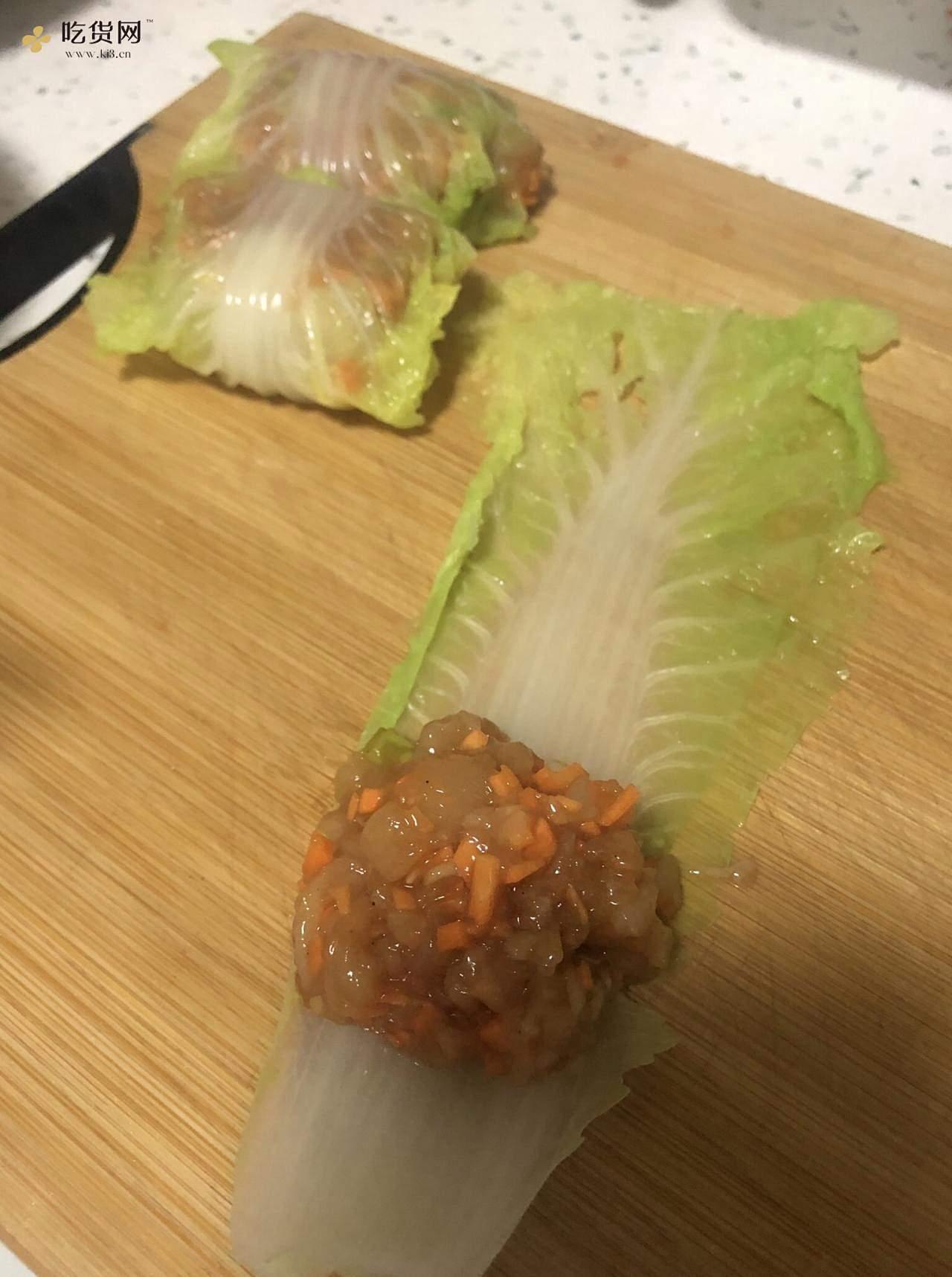 减肥餐——鸡肉卷的做法 步骤4