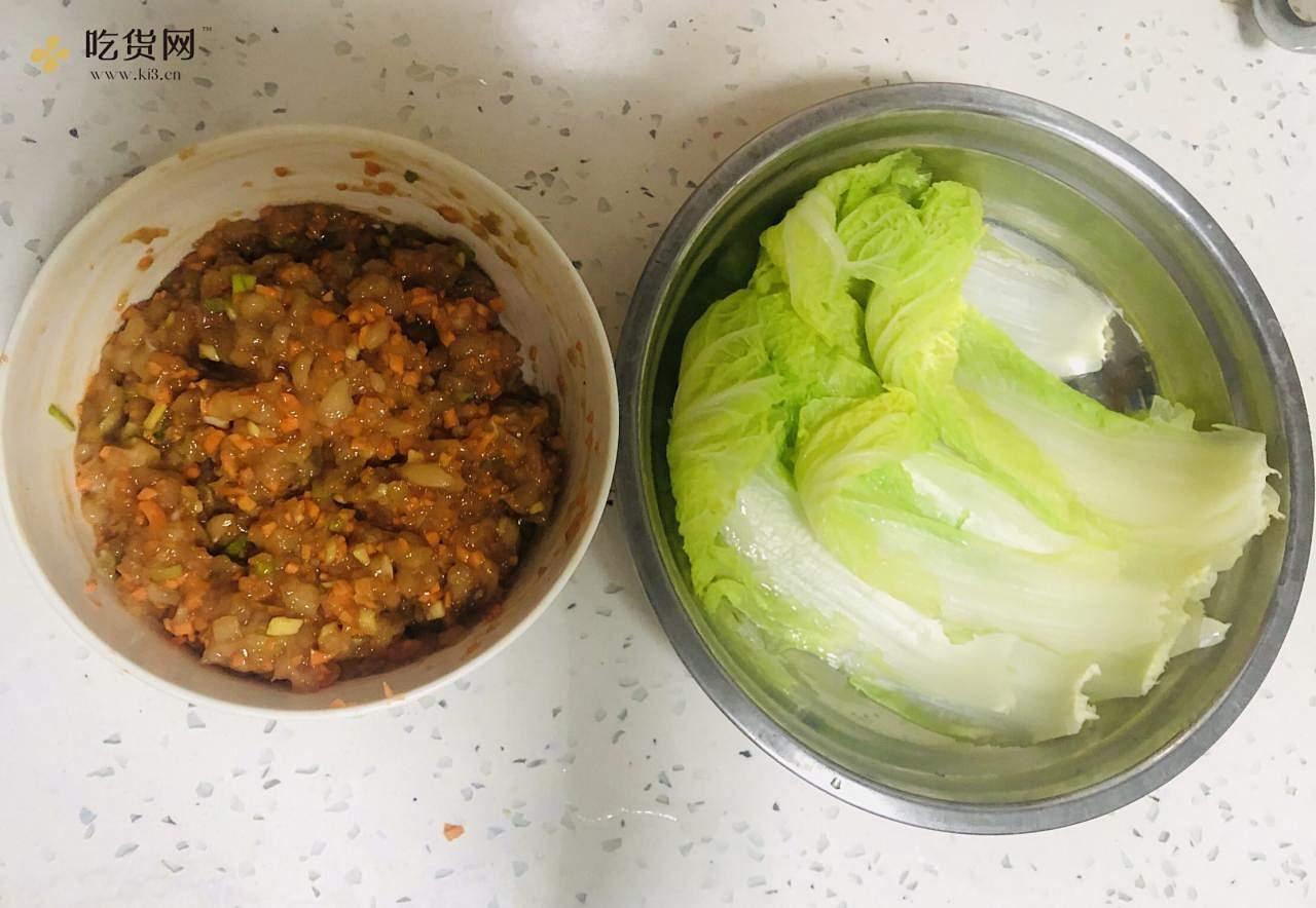 减肥餐——鸡肉卷的做法 步骤3