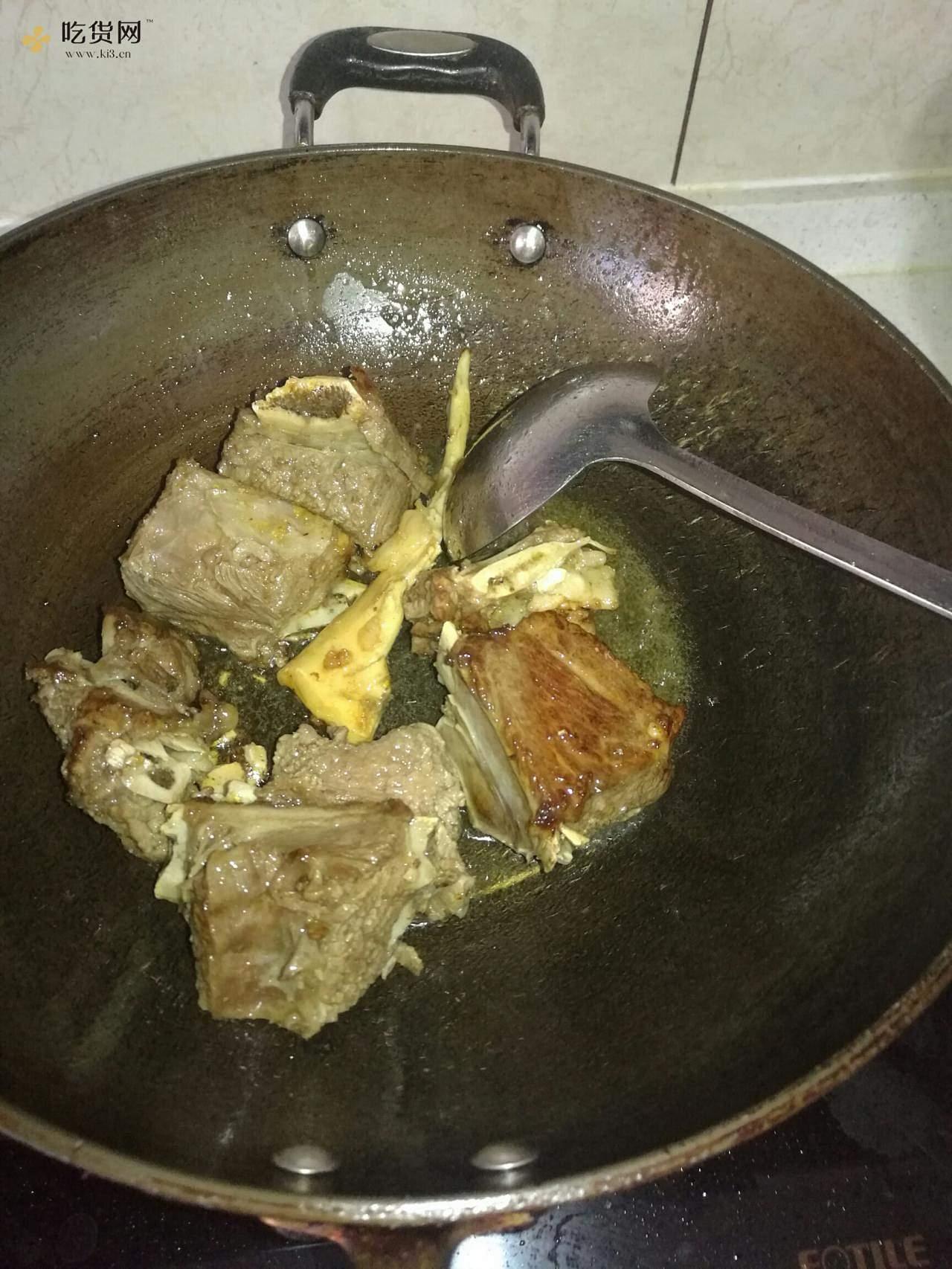 红烧牛排的做法 步骤4