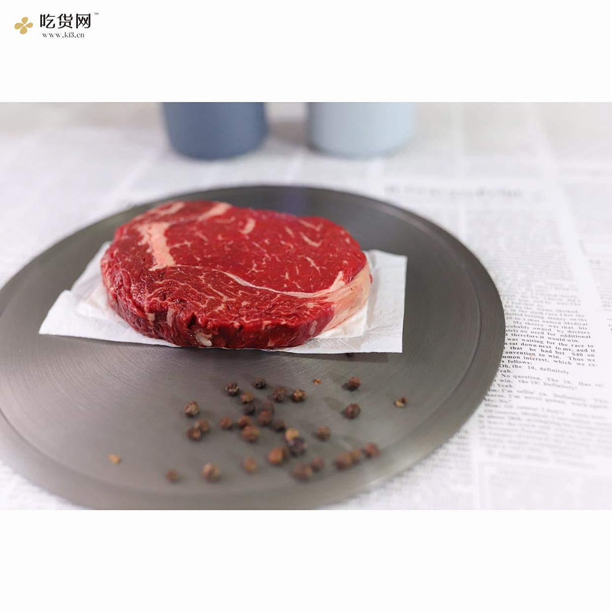 烤肉眼牛排【外焦里嫩】的做法 步骤1