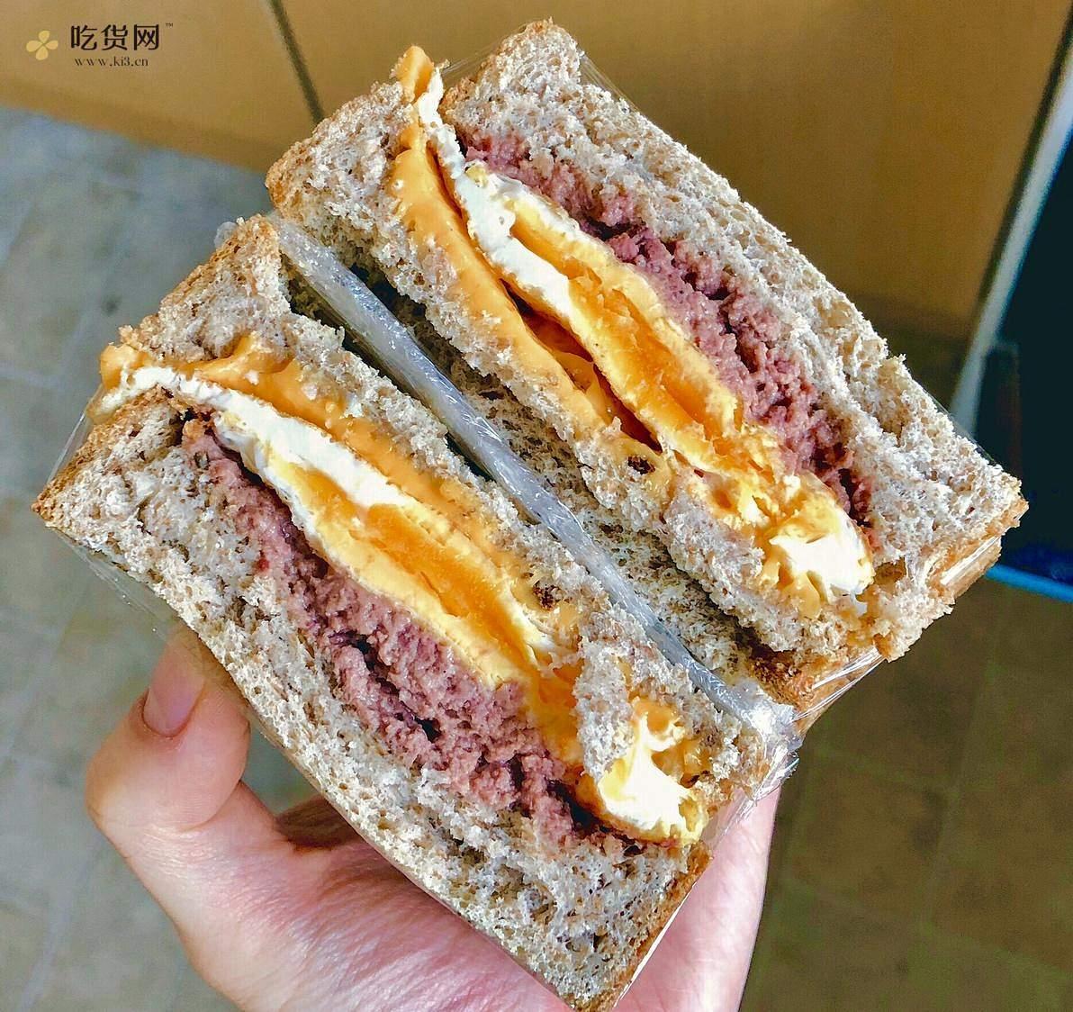 视觉味觉爆炸的全麦三明治系列|减脂万能公式 欢迎来玩!的做法 步骤5