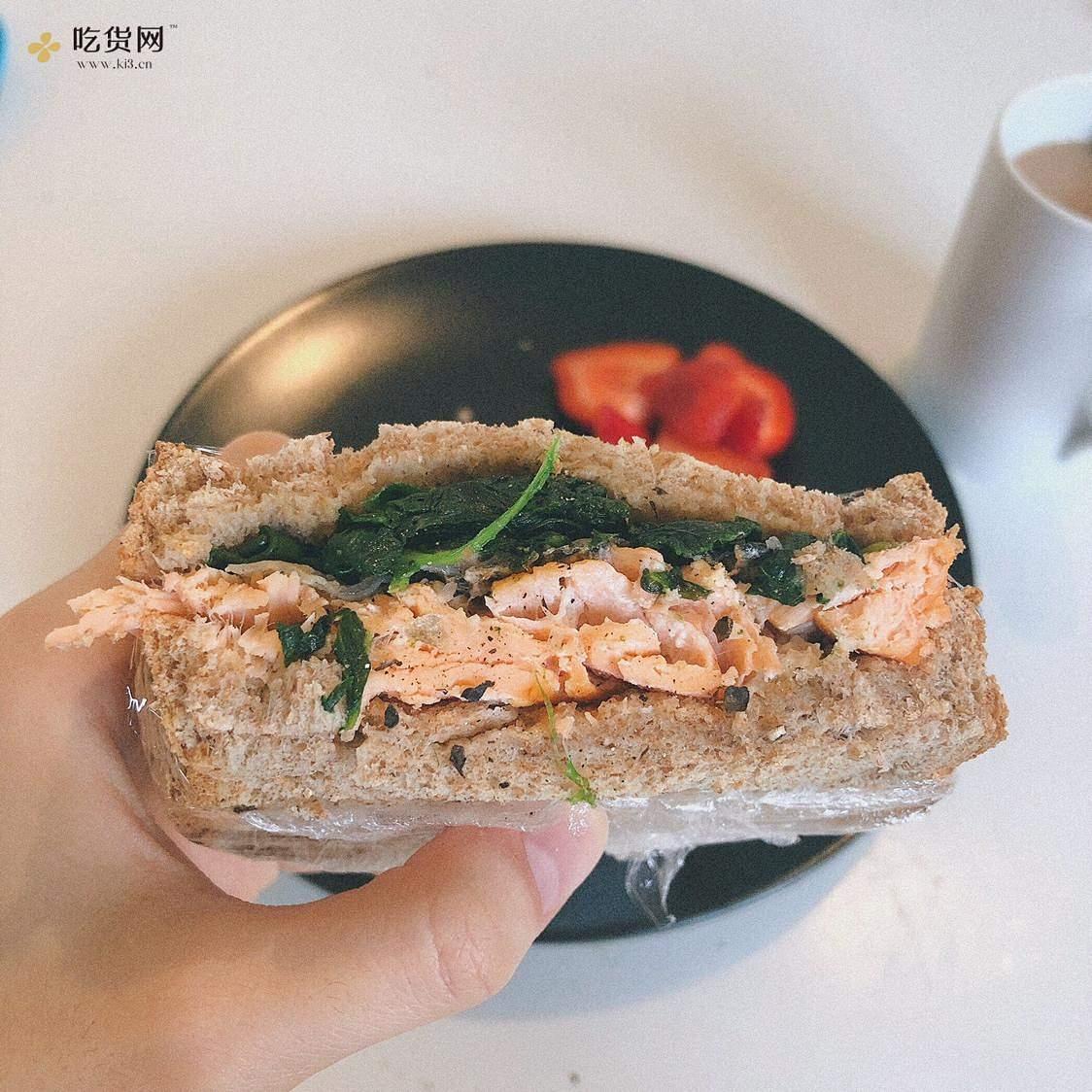 视觉味觉爆炸的全麦三明治系列|减脂万能公式 欢迎来玩!的做法 步骤24