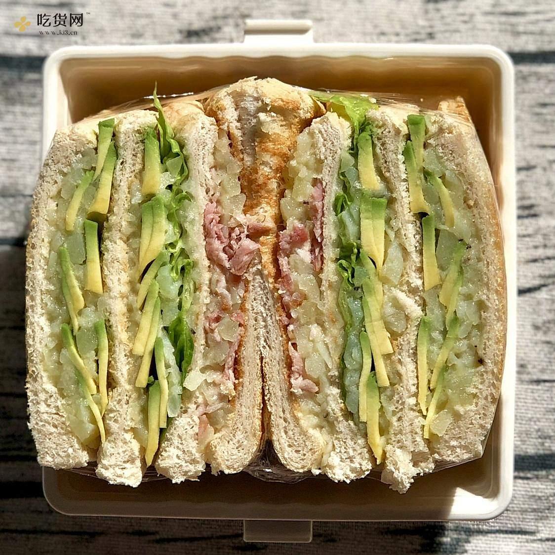 视觉味觉爆炸的全麦三明治系列|减脂万能公式 欢迎来玩!的做法 步骤35