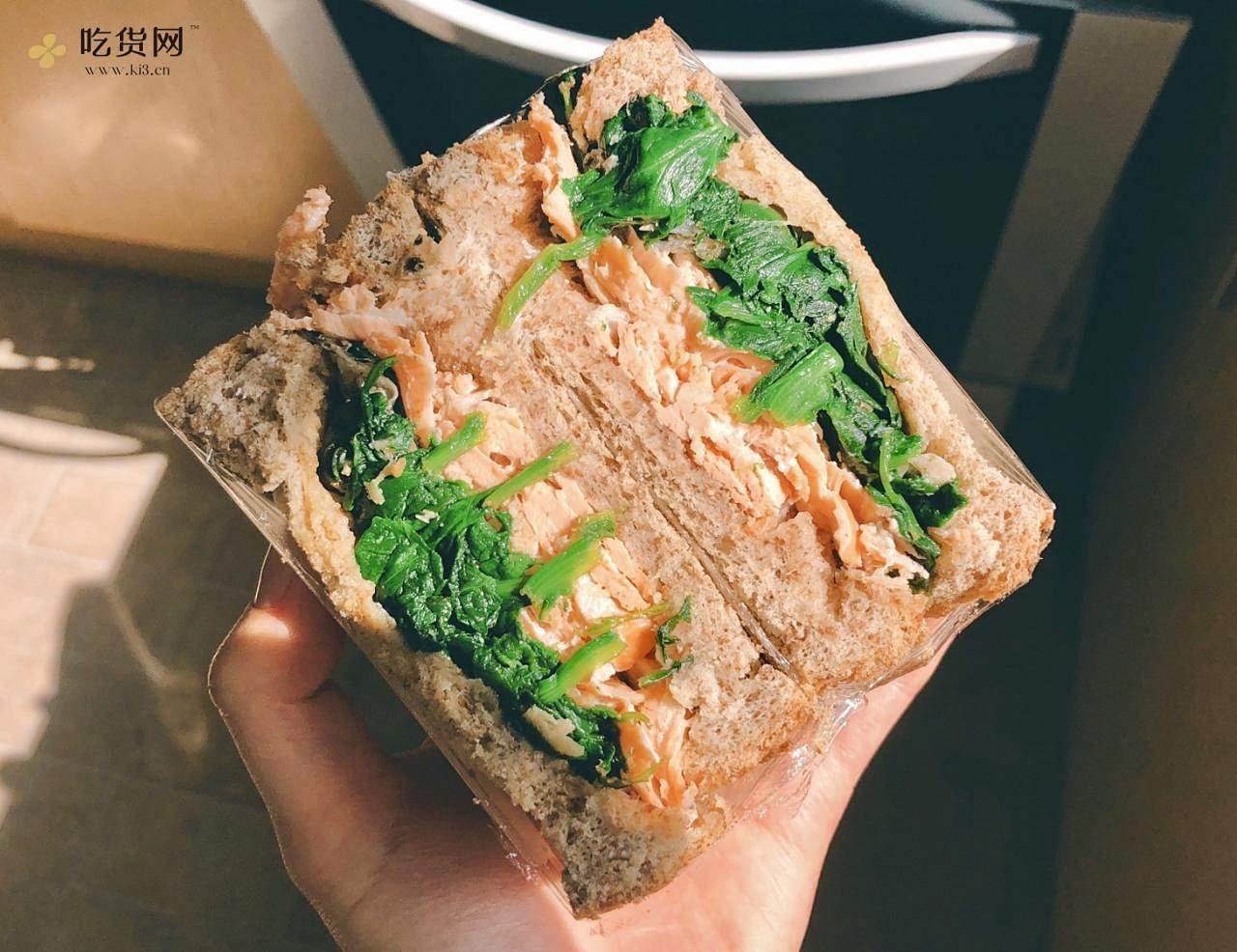 视觉味觉爆炸的全麦三明治系列|减脂万能公式 欢迎来玩!的做法 步骤14