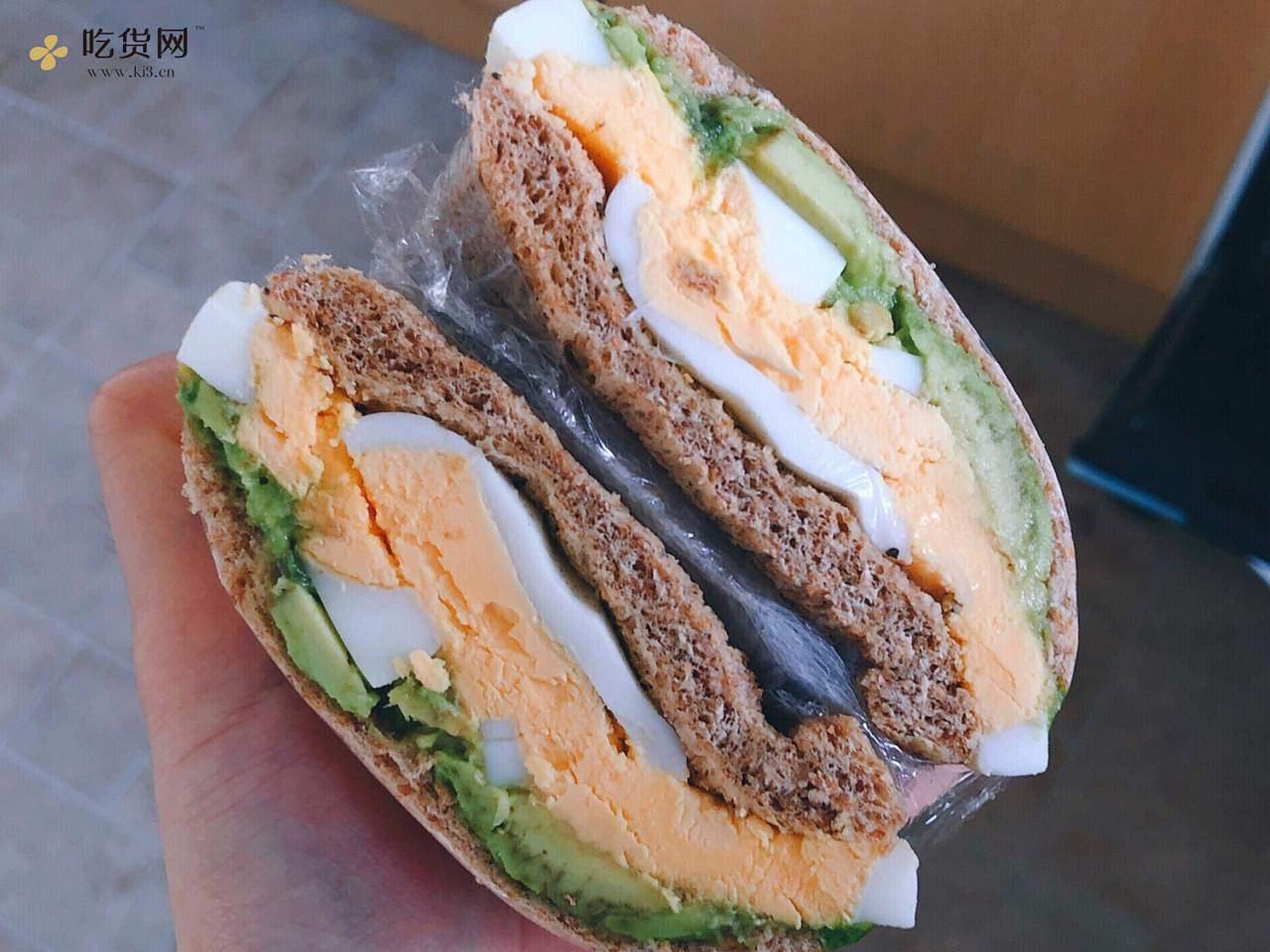 视觉味觉爆炸的全麦三明治系列|减脂万能公式 欢迎来玩!的做法 步骤13