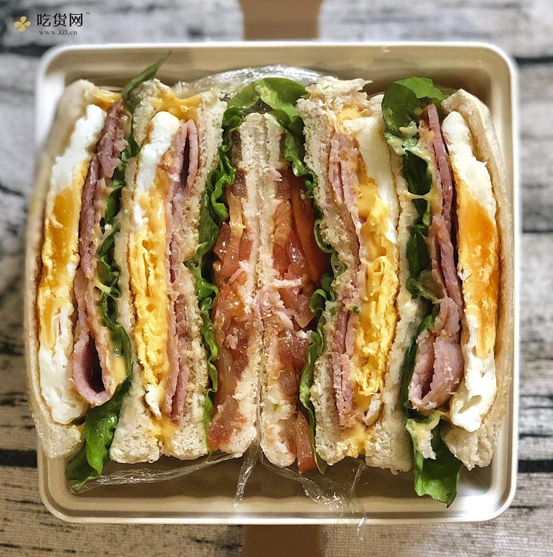 视觉味觉爆炸的全麦三明治系列|减脂万能公式 欢迎来玩!的做法 步骤29