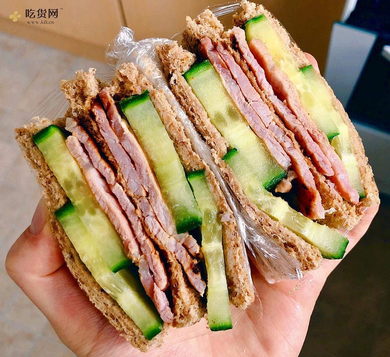 视觉味觉爆炸的全麦三明治系列|减脂万能公式 欢迎来玩!的做法 步骤20