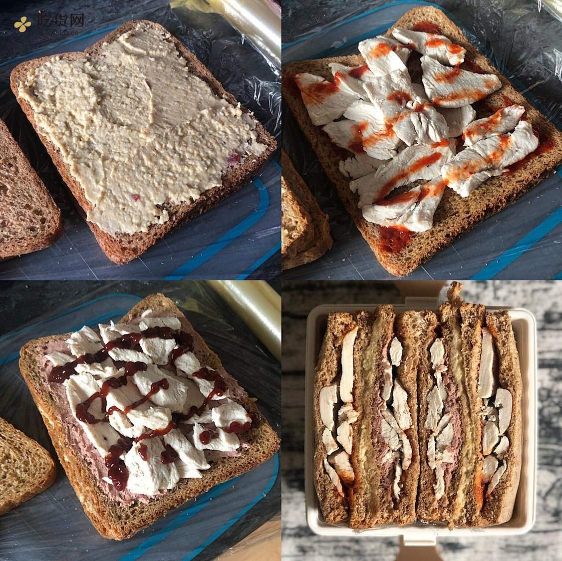 视觉味觉爆炸的全麦三明治系列|减脂万能公式 欢迎来玩!的做法 步骤32