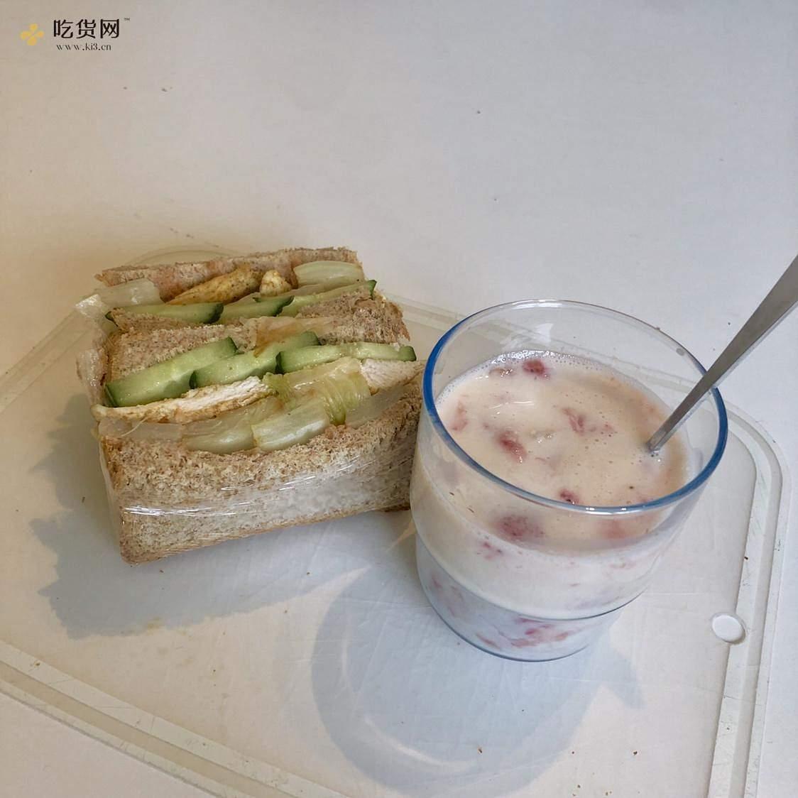 视觉味觉爆炸的全麦三明治系列|减脂万能公式 欢迎来玩!的做法 步骤23