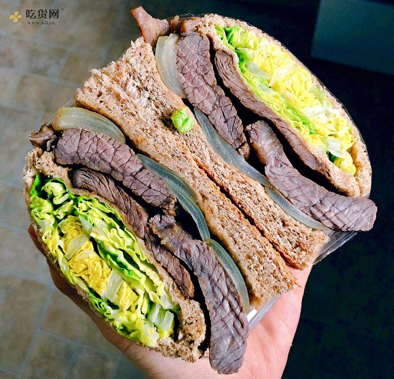 视觉味觉爆炸的全麦三明治系列|减脂万能公式 欢迎来玩!的做法 步骤18