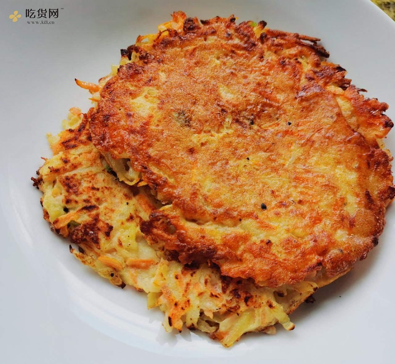 减肥餐~土豆饼的做法 步骤3