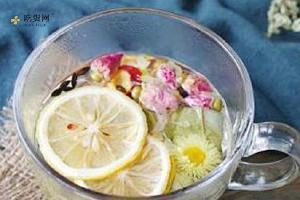 菏叶柠檬茶的作用,柠檬菏叶有什么功效缩略图