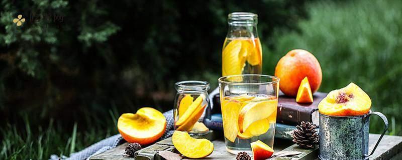 黄桃皮怎么会发红,黄桃水果罐头有营养成分吗缩略图