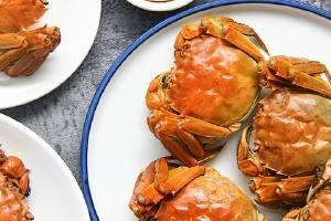 大闸蟹能够和什么食物同吃,大闸蟹不可以与什么同吃缩略图
