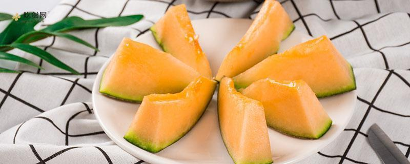 哈蜜瓜能和青芒一起吃吗,哈蜜瓜和青芒同吃有哪些好处呢插图