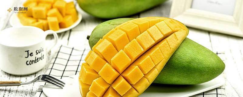 青芒没熟能吃吗,生芒果割开了如何挽救缩略图