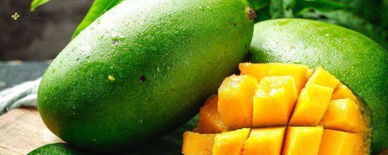 芒果里边是乳白色能吃吗,芒果放进哪些水平能吃插图