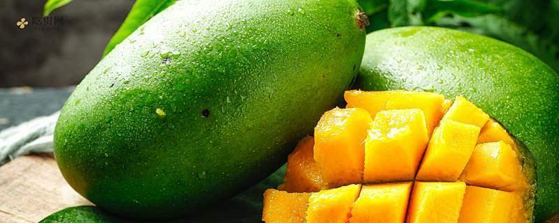 芒果里边是乳白色能吃吗,芒果放进哪些水平能吃缩略图